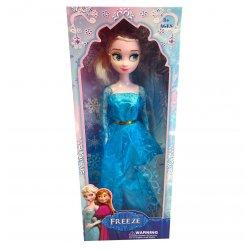 Bajkowa Lalka w błękitnej sukni balowej