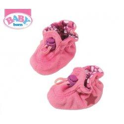 Baby Born Buciki dla lalki Fioletowe