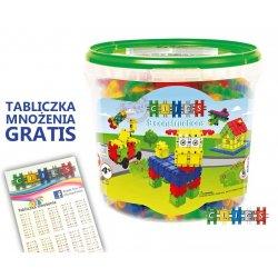 Clics Klocki Przedszkolaka 175 Elementów + Tabliczka Mnożenia GRATIS