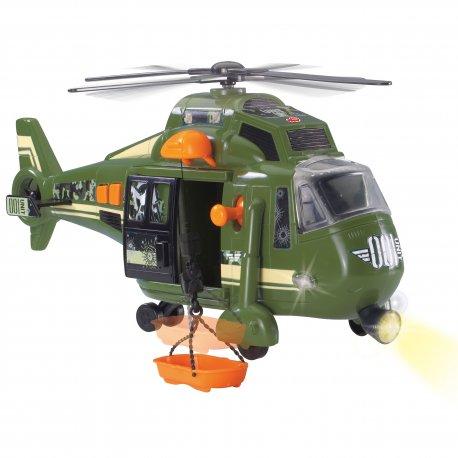 Dickie Helikopter wojskowy 41 cm Speed Champs Światło dźwięk*