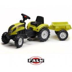 Falk Traktor na pedały RANCH z przyczepą