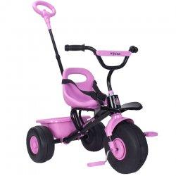 Injusa Trójkołowy rowerek Sweet bagażnik Pasy Bezpieczeństwa