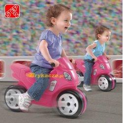 STEP2 Jeździk Motor Różowy