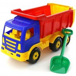 Wader QT Gigant ciężarówka wywrotka 67cm + łopatka