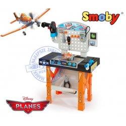 Smoby Super Warsztat Planes Samoloty Dusty 20akc