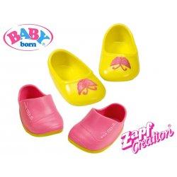 BABY BORN Zestaw bucików czerwony + żółty
