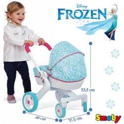 Smoby Wózek Głęboki FROZEN Gondola dla lalek KRAINA LODU HIT
