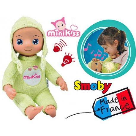 SMOBY Lalka Minikiss Dodo Doll Światło Dźwięk