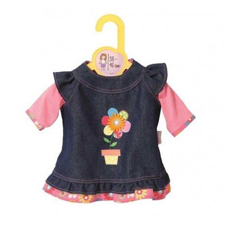 Zapf Creation Dolly Moda - Sukienka Jeansowa dla lalki