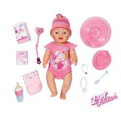 BABY born Lalka interaktywna - Dziewczynka