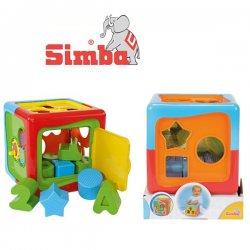 SIMBA ABC Mała Kostka Edukacyjna Sorter kształtów