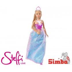 SIMBA Lalka STEFFI Love Świecąca Korona Naszyjnik