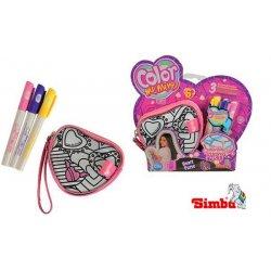 Simba Color Me Mine Diamond Party Portmonetka Serduszko+ Flamastry