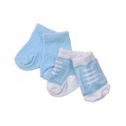 Baby Born Niebieskie Niebiesko-Białe Skarpetki Dla Lalki 43 cm
