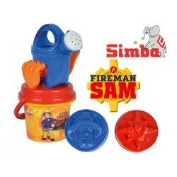 Simba Wiaderko do piasku Strażak Sam z Akcesoriami