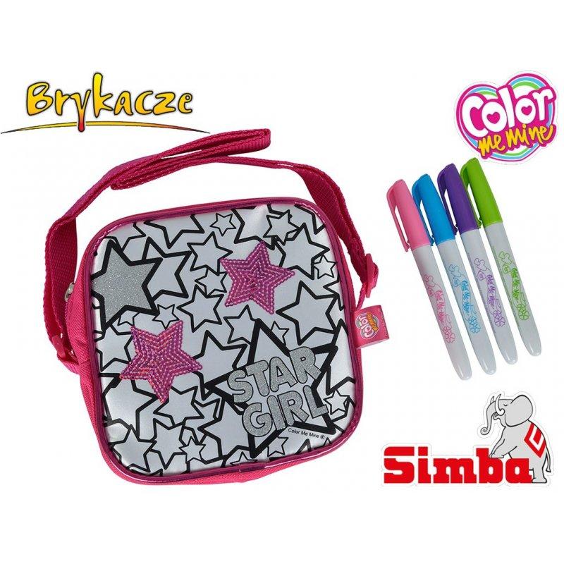 Simba Color Me Mine Torba do kolorowania Cekinowa + 4   -> Kuchnia Dla Dzieci Reklama Tv