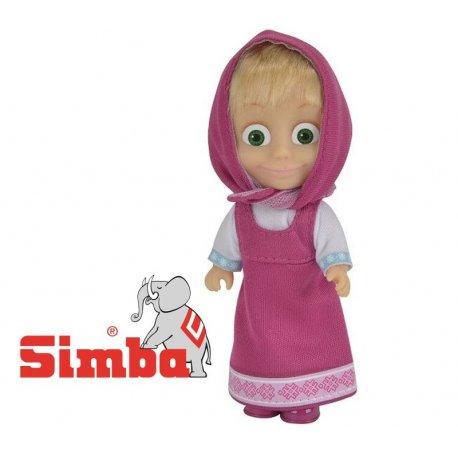 SIMBA Lalka Masza Kolorowa Fioletowa