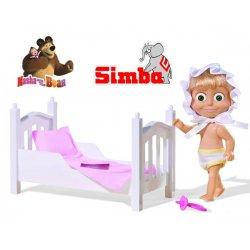 Simba Lalka Masza Na Dobranoc Smoczek Łóżeczko