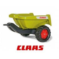 Rolly Toys rollyTrailer Przyczepa Rolly Kipper do traktora zielona CLAAS