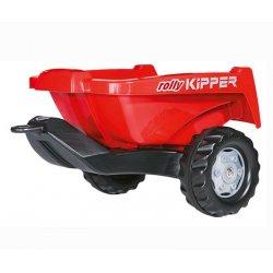 Rolly Toys rollyTrailer Przyczepa czerwona Rolly Kipper do traktora
