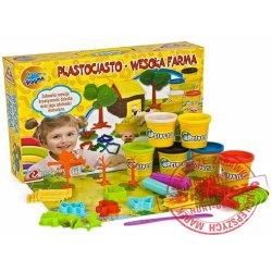 Playme Ciastolina zestaw Wesoła Farma NOVA Plastociasto