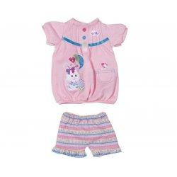 My Little Baby Born Modny komplecik sukienka + spodenki różowe