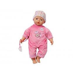 Baby Born lalka Bobas super soft 32cm. ciemny róż My Little Baby Born