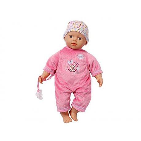 Zapf Creation lalka Bobas super soft 32cm. ciemny róż My Little Baby Born