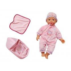 My Little Baby Born Lalka Super Soft Nosidełko Kocyk