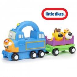 Little Tikes- Pojazd z Uchwytem Big Top Charlie Niebieski Dwięk