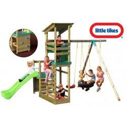 Little Tikes Drewniany Plac Zabaw Buckingham Piaskownica Domek