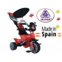 Injusa Rowek Trójkołowy funkcja sterowania Pasy bezpieczeństwa 2 w 1 Body Sport
