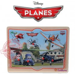 Eichhorn Samoloty Puzzle PLANES kształty 7 el. Disney