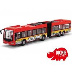 DICKIE Przegubowy Autobus City Express 46cm CZERWONY