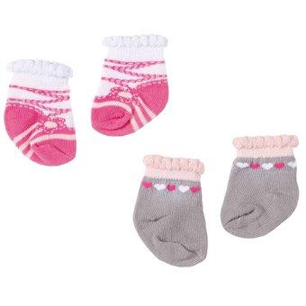 Baby Annabell Skarpetki 2 pary Zestaw B dla lalki