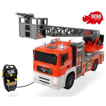 DICKIE SOS Straż pożarna Fire Patrol Woda Światło Dźwięk 50 cm