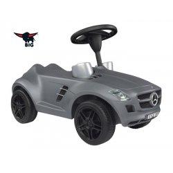 BIG Jeździk Mercedes Benz odpychacz ciche koła klakson