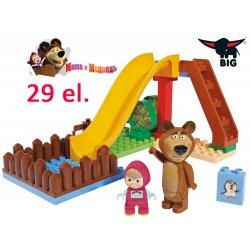 Big Klocki Masza i Niedźwiedź Plac Zabaw z figurkami