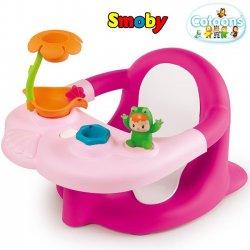 SMOBY Cotoons żabka do kąpieli różowa + Śliniaczek GRATIS!