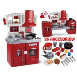 Little Tikes Kuchnia rozkładana 2 w 1 Elektroniczna 26 akcesoriów