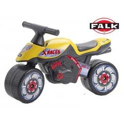 FALK Motorek chodzik Jeździk Motor X RACER żółty