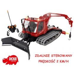 DICKIE Traktor zdalnie sterowany Ratrak pług PILOT