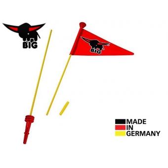 BIG Wimpy Flaga Do Jeździka Czerwona Chorągiewka