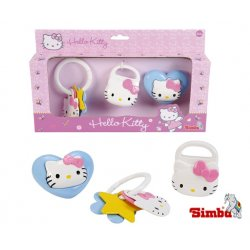 Simba ABC zestaw grzechotek Hello Kitty