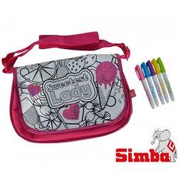 Simba Color Me Mine cekinowa Duża torba listonoszka do kolorowania + flamastry Reklama TV HIT