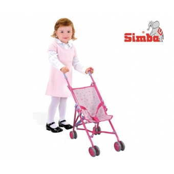 Wózek dla lalek Spacerówka Simba 60 cm Fioletowy