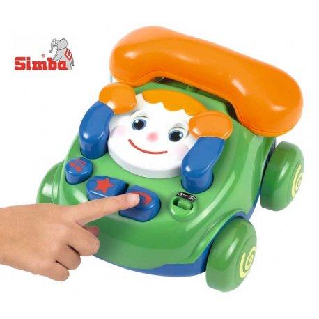 SIMBA ABC Telefon z Buźką z Dźwiękiem