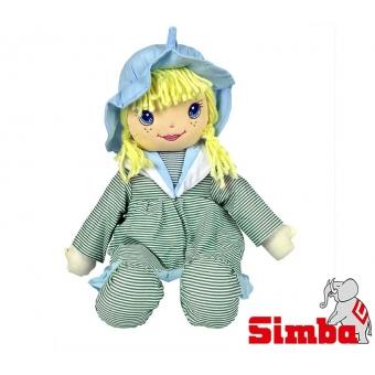 Lalka Szmacianka Dolly Zielona Simba