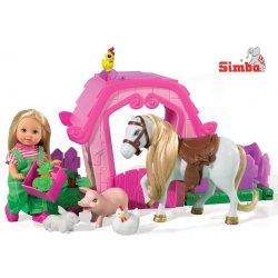 Simba Lalka Evi Love Słodka Farma ze zwierzętami