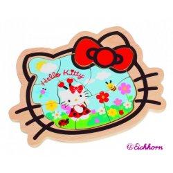 Eichhorn Puzzle z obrazkami Hello Kitty Kształty drewno